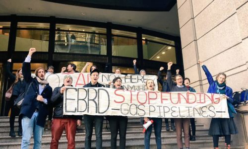 EBRD Action London, UK, February 2018.