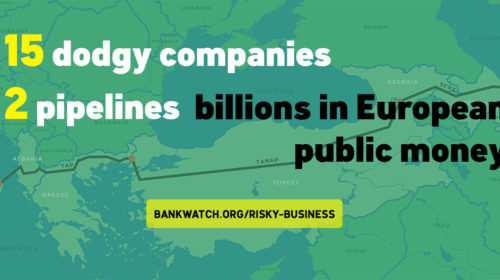 Among others, 15 dodgy companies profit from the Southern Gas Corridor; and it will be financed by billions of Euros from European money.