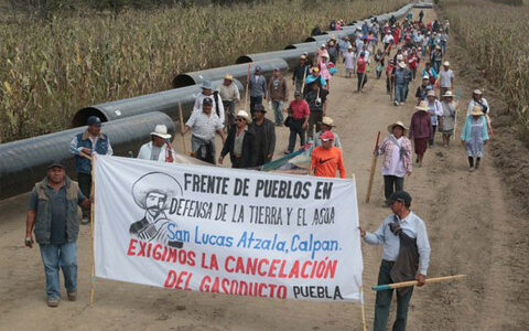 Mexico resists dangerous pipeline project around the Popocatepetl Volcano. Climate Strike Defenders of Mother Earth Campaign.